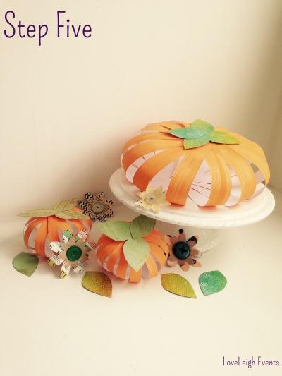 Paper pumpkins6